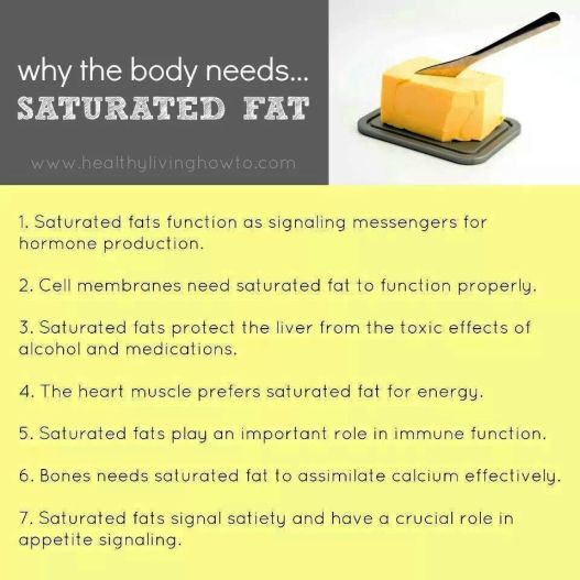 Sautrated fat